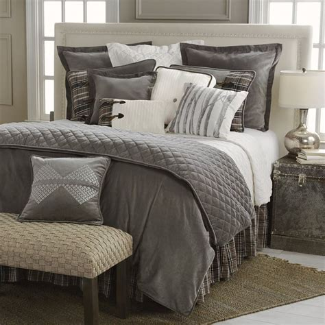 Modern Bedroom Sets King 1000 ideas about grey comforter sets on pinterest