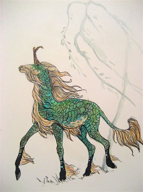 Mythical Creatures Of Asia kirin by cindarellapop on deviantart i definitely need