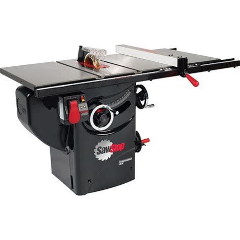 best value cabinet table saw sawstop 1 75 hp professional table saw w 30 fence rails