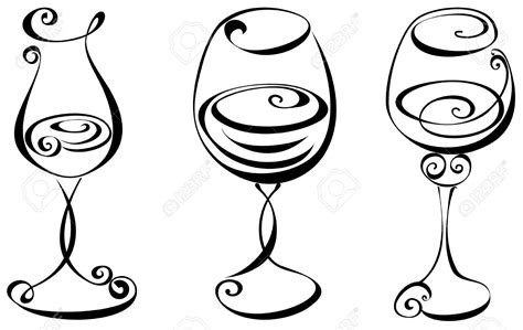 wine glass silhouette clipart white silhouette wine glass clipground