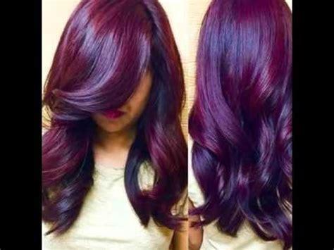 colores de cabellos bonitos cabellos hermosos color rojos youtube