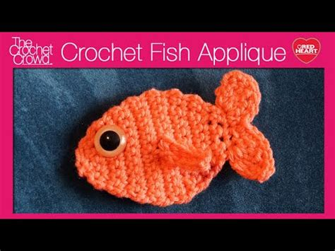 youtube pattern fish crochet fish appliqu 233 youtube