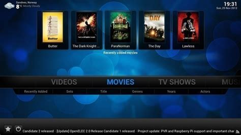 Kaos Airborne Spesial Edition 511 openelec 4 2 0 is a powerful media center linux os
