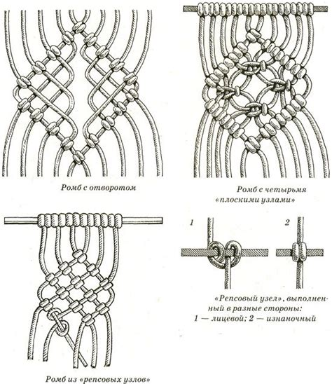 Macrome Knots - best 25 macrame knots ideas on macrame
