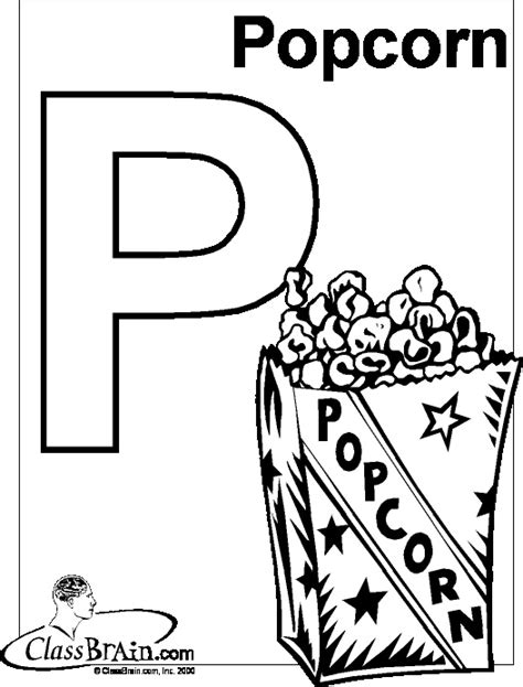 popcorn coloring pages preschool 39 best images about pre k popcorn on pinterest