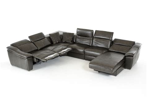 leather sectional with large ottoman extra large sectional sofas decofurnish