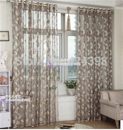 Grey And Beige Curtains Aliexpress Buy High Quality Morden Grey Beige Gold Sheer Curtain For Bedroom Balcony