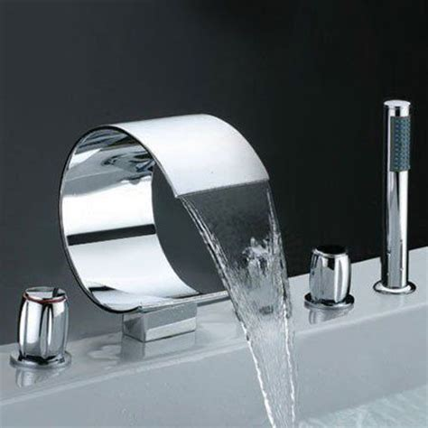 bathroom fascinating tub faucet with shower hose 30 new interesting bathroom faucets when price is no object