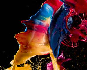 paint images pop art gorgeous blooms of paint made with exploding balloons wired