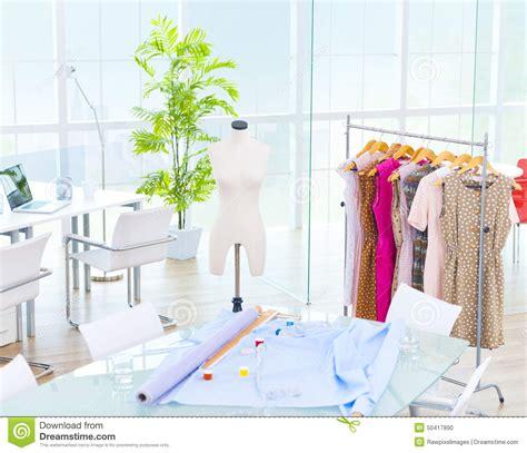 design fashion by using a fashion studio design room office fashion studio concept stock photo