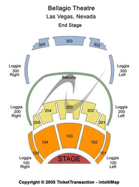 o theater bellagio tickets in las vegas nevada seating