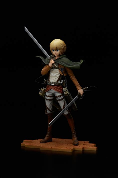 Armin Brave Act By Sentinel Attack On Titan attack on titan armin arlert brave act 1 8 figure by