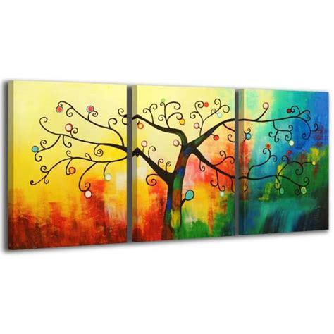 cuadros murales cuadros tripticos mural 150 x 70cm pintados a mano an