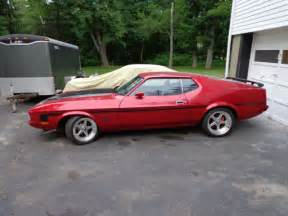 70 Ford Mustang 1973 Ford Mach 1 Mustang Q Code 4 Speed Cleveland Stroker