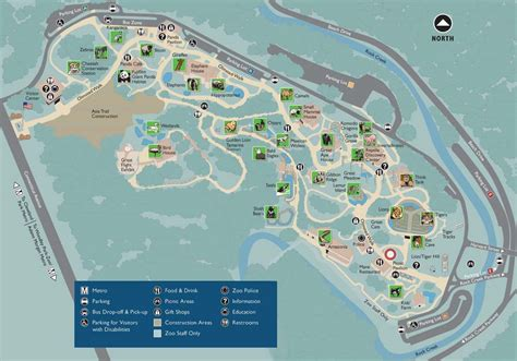 national zoo map smithsonian national zoological park washington dc roaming traveller