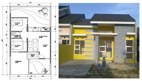contoh layout rumah sederhana 100 contoh gambar desain rumah minimalis 1 lantai tak