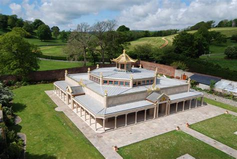 Kadampa Buddhist Temple Building, Cumbria   e architect