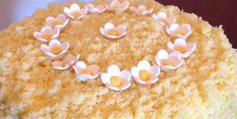 bagna per torta mimosa torta mimosa per la festa della donna dolcicolcuore