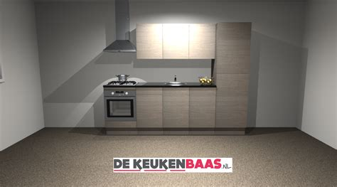 keuken 270 cm rechte keuken 270cm oranjestad de keukenbaas