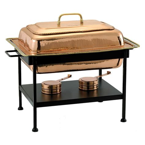 buffet chafing dishes 893 rectangular decor copper chafing dish chafing dishes buffet servers at hayneedle