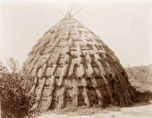 apache indians homes grass houses