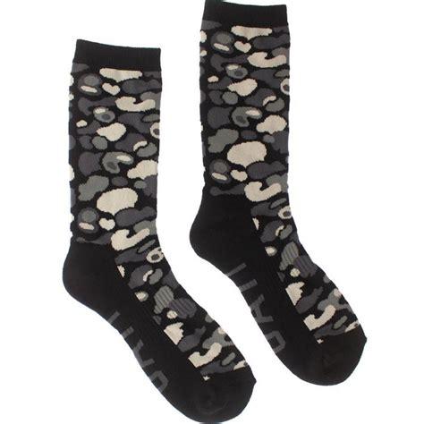 Camo Socks bait camo crew socks camo black