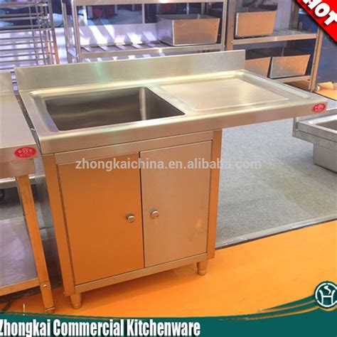 Kitchen Sink Cabinet Base Metal Kitchen Sink Base Cabinet Stainless Steel Kitchen Sink Cabinet Single Bowl Stainless Steel