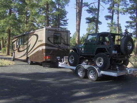 Rv Jeep 15 Best Images About Motorhomes With Jeep Toads On