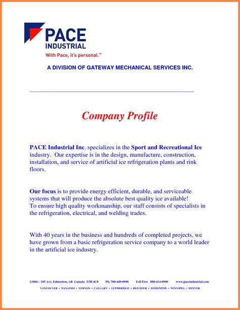 information technology company profile template 4 manufacturing company profile sle company letterhead
