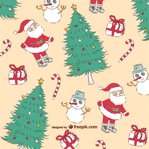 retro christmas pattern vector free christmas vintage pattern vector free download