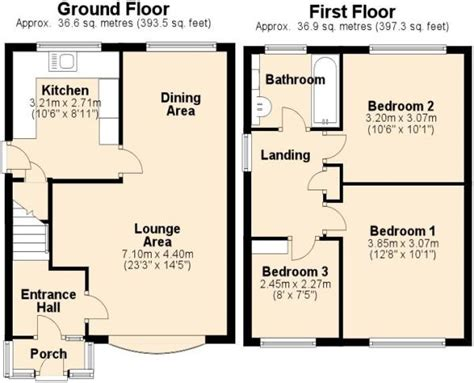 uk house floor plans woodworking plans 3 bed house plans uk pdf plans