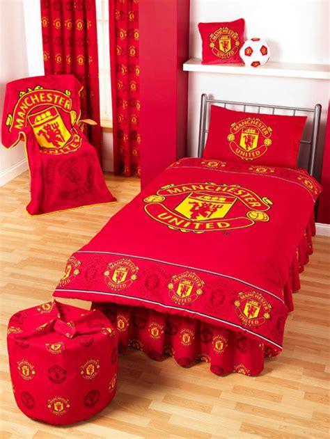 Man Utd Duvet T Covers Manchester United Fc Football Duvet Cover