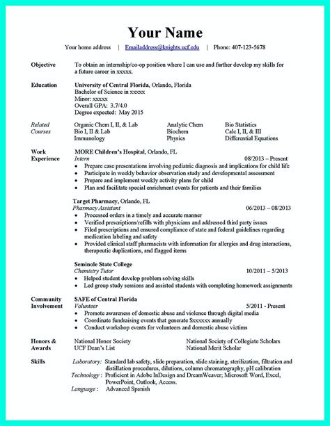 computer science internship resume sle computer science writing computer science resume writing