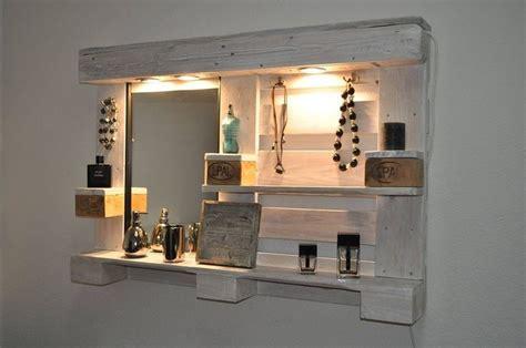 spiegelschrank diy toller diy spiegelschrank aus alten paletten diy