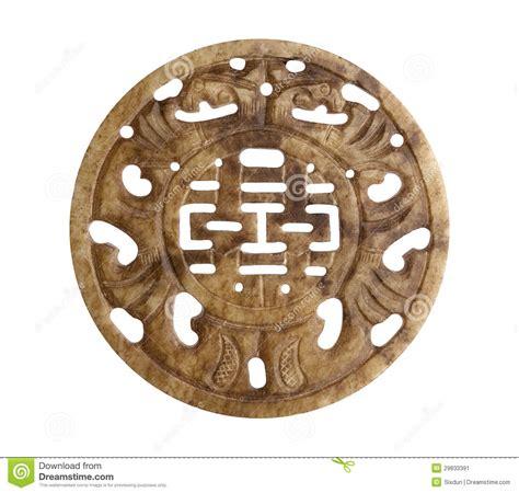 imagenes de simbolos chinos de buena suerte s 237 mbolo chino de la buena suerte en piedra imagen de