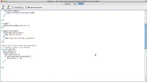 netlogo tutorial youtube depth first search implementation in netlogo youtube