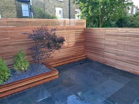 backyard privacy screen modern garden design garden