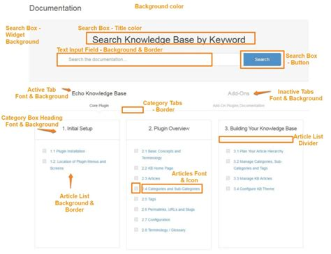 step 4 advanced tuning optional echo knowledge base