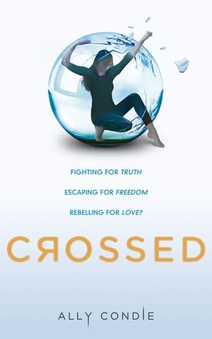 dystopian blogs of a bookaholic blog of a bookaholic review crossed ally condie