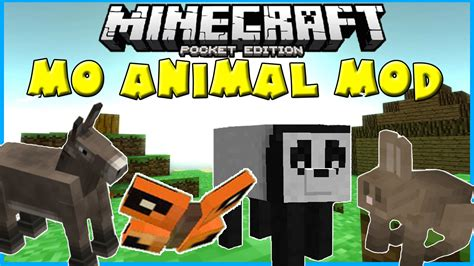 mo downloads mo animals pocket edition mod mcpe mcpedownload