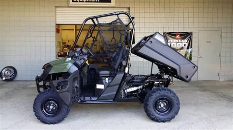 honda utility vehicle 2016 honda pioneer 700 start up side by side atv