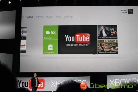 porte xboxlive xbox live supporte et live tv avec les commandes