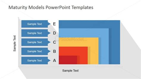 powerpoint template dimensions two dimensions commulative maturity model slidemodel