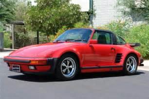 Porsche 930 Turbo Targa 1989 Porsche 930 Slant Nose Targa Turbo 71421