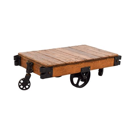 Rustic Coffee Table With Wheels 49 Restoration Hardware Restoration Hardware Rustic Coffee Table With Wheels Tables