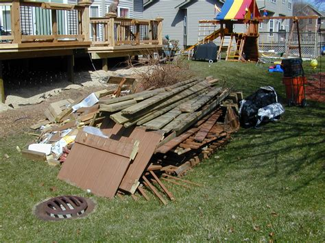 Backyard Junk by Detroit Junk Up Trash Waste Clean Up Junk Marshals