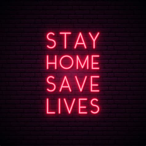stay home save lives quote  protection