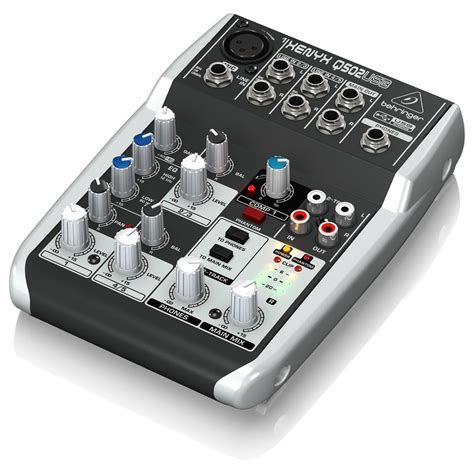 Blender Usb behringer xenyx q502usb usb mixer at gear4music