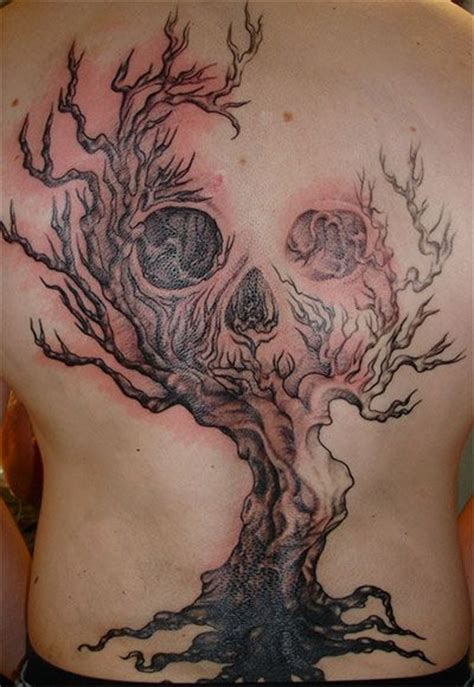evil tree tattoo designs 15 spooky designs for the season pretty designs
