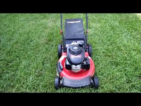 troy bilt lawn mower model tb honda gcv engine craigslist find july   youtube